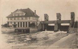 Hydroelectric power plant in Předměřice nad Labem, which belonged to Mr. Voženílek