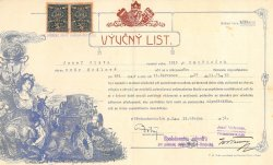 apprenticeship certificate 1931